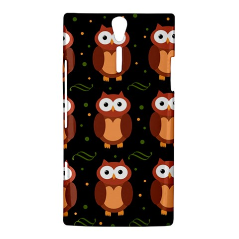 Halloween brown owls  Sony Xperia S