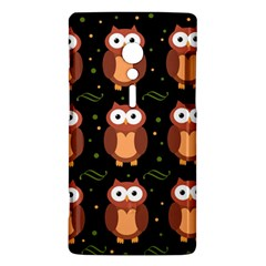 Halloween brown owls  Sony Xperia ion