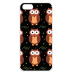 Halloween brown owls  Apple iPhone 5 Seamless Case (White) Front
