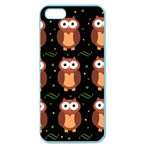 Halloween brown owls  Apple Seamless iPhone 5 Case (Color) Front