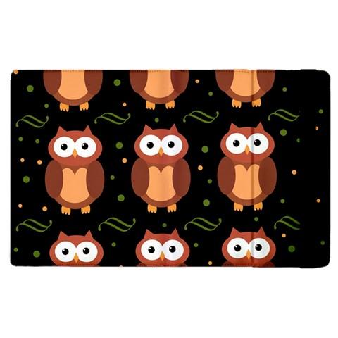 Halloween brown owls  Apple iPad 3/4 Flip Case