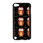 Halloween brown owls  Apple iPod Touch 5 Case (Black) Front