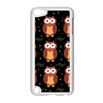 Halloween brown owls  Apple iPod Touch 5 Case (White) Front