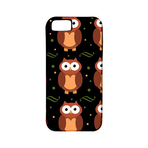 Halloween brown owls  Apple iPhone 5 Classic Hardshell Case (PC+Silicone)