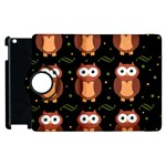 Halloween brown owls  Apple iPad 2 Flip 360 Case Front