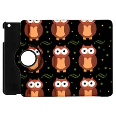 Halloween Brown Owls  Apple Ipad Mini Flip 360 Case