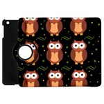 Halloween brown owls  Apple iPad Mini Flip 360 Case Front