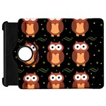 Halloween brown owls  Kindle Fire HD Flip 360 Case Front