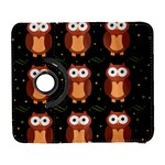 Halloween brown owls  Samsung Galaxy S  III Flip 360 Case Front