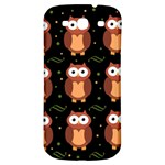 Halloween brown owls  Samsung Galaxy S3 S III Classic Hardshell Back Case Front