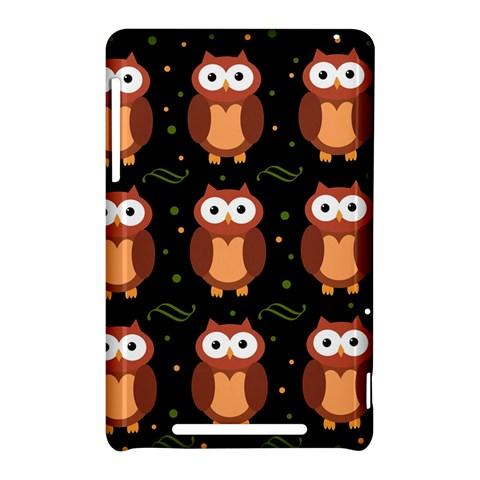 Halloween brown owls  Nexus 7 (2012)