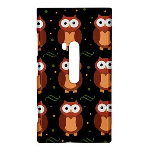 Halloween brown owls  Nokia Lumia 920