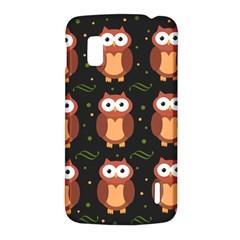 Halloween brown owls  LG Nexus 4