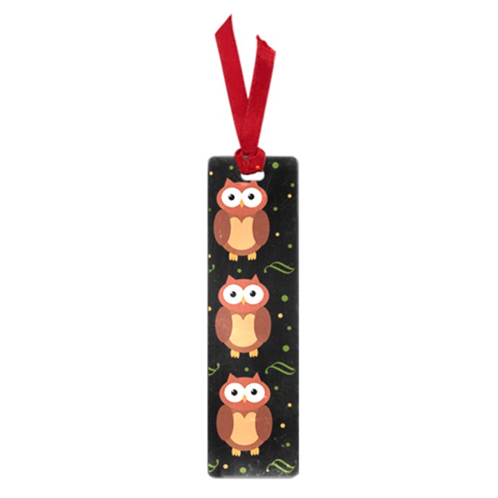 Halloween brown owls  Small Book Marks