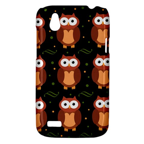 Halloween brown owls  HTC Desire V (T328W) Hardshell Case