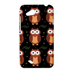 Halloween brown owls  HTC Desire VC (T328D) Hardshell Case