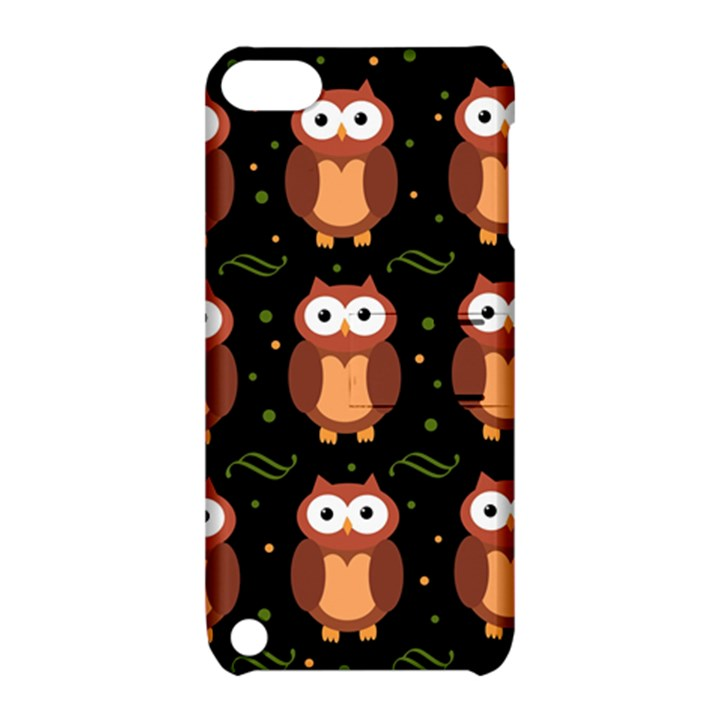 Halloween brown owls  Apple iPod Touch 5 Hardshell Case with Stand