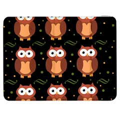 Halloween brown owls  Samsung Galaxy Tab 7  P1000 Flip Case