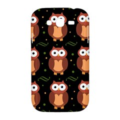 Halloween brown owls  Samsung Galaxy Grand DUOS I9082 Hardshell Case
