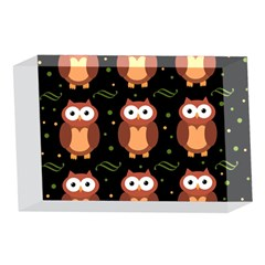 Halloween brown owls  4 x 6  Acrylic Photo Blocks