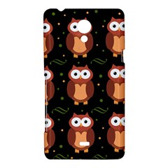 Halloween brown owls  Sony Xperia T