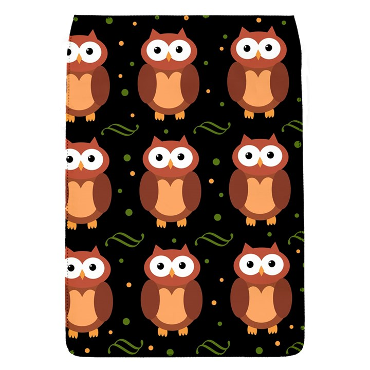 Halloween brown owls  Flap Covers (S)