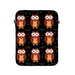 Halloween brown owls  Apple iPad 2/3/4 Protective Soft Cases Front