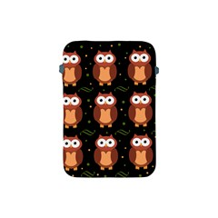 Halloween Brown Owls  Apple Ipad Mini Protective Soft Cases