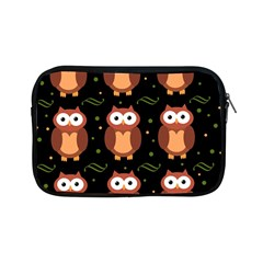 Halloween Brown Owls  Apple Ipad Mini Zipper Cases