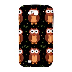 Halloween brown owls  Samsung Galaxy Grand GT-I9128 Hardshell Case