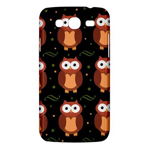 Halloween brown owls  Samsung Galaxy Mega 5.8 I9152 Hardshell Case