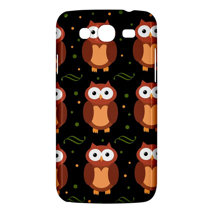 Halloween brown owls  Samsung Galaxy Mega 5.8 I9152 Hardshell Case
