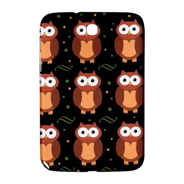 Halloween brown owls  Samsung Galaxy Note 8.0 N5100 Hardshell Case