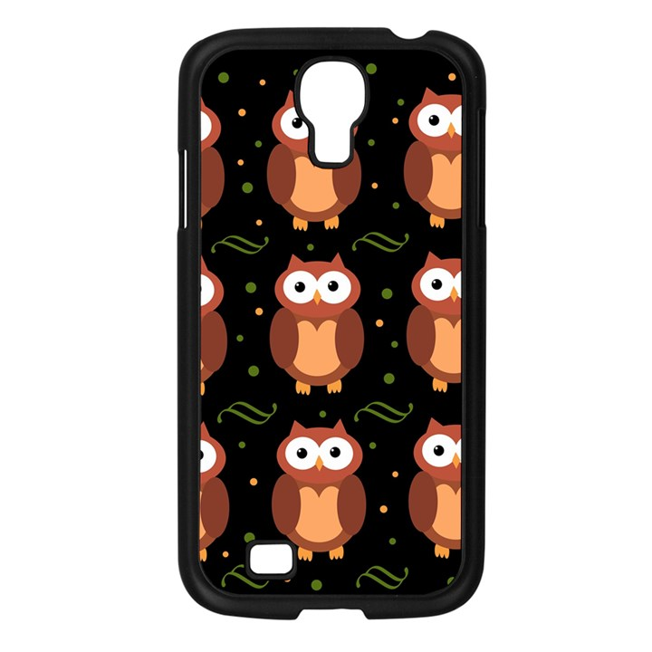 Halloween brown owls  Samsung Galaxy S4 I9500/ I9505 Case (Black)