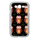 Halloween brown owls  Samsung Galaxy Grand DUOS I9082 Case (White) Front