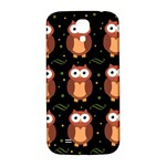 Halloween brown owls  Samsung Galaxy S4 I9500/I9505  Hardshell Back Case Front