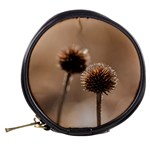 Withered Globe Thistle In Autumn Macro Mini Makeup Bags Back