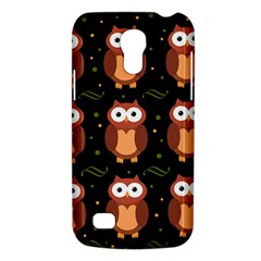 Halloween Brown Owls  Galaxy S4 Mini