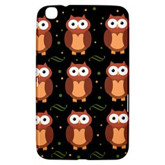Halloween brown owls  Samsung Galaxy Tab 3 (8 ) T3100 Hardshell Case