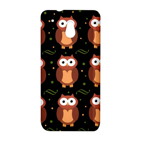 Halloween brown owls  HTC One Mini (601e) M4 Hardshell Case