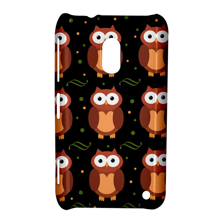 Halloween brown owls  Nokia Lumia 620