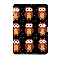 Halloween Brown Owls  Samsung Galaxy Tab 2 (10 1 ) P5100 Hardshell Case