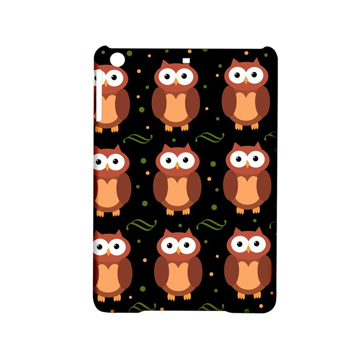 Halloween brown owls  iPad Mini 2 Hardshell Cases