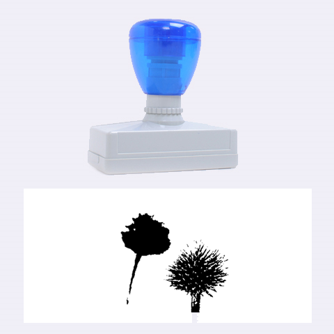 Withered Globe Thistle In Autumn Macro Rubber Stamps (Large)