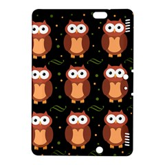 Halloween Brown Owls  Kindle Fire Hdx 8 9  Hardshell Case