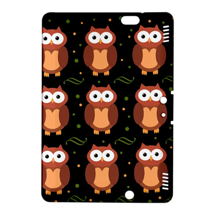 Halloween brown owls  Kindle Fire HDX 8.9  Hardshell Case