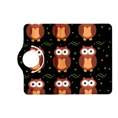 Halloween Brown Owls  Kindle Fire Hd (2013) Flip 360 Case