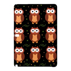 Halloween Brown Owls  Samsung Galaxy Tab Pro 12 2 Hardshell Case