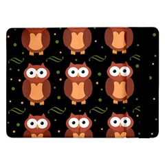 Halloween brown owls  Samsung Galaxy Tab Pro 12.2  Flip Case