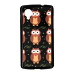 Halloween brown owls  Nexus 5 Case (Black) Front